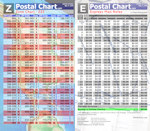 Express Mail & Zone Chart - Commercial Base